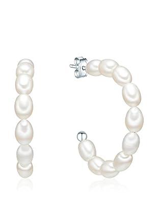 Nova Pearls Copenhagen Pendientes Blanco