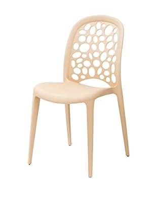 TUONI Stuhl 4er Set Allegra naturweiß