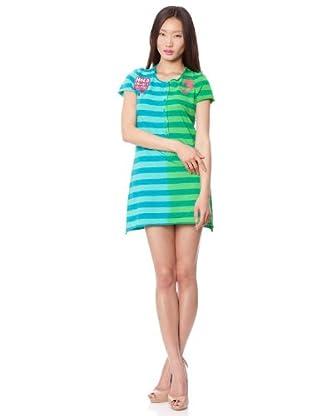 Custo Vestido Lua (azul / verde)