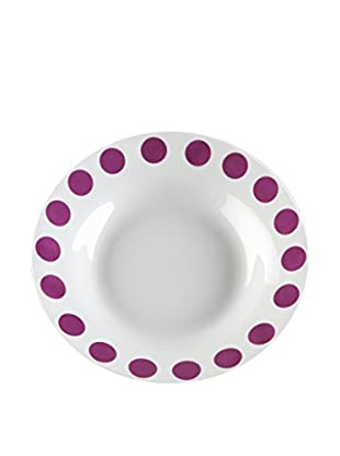 Zings Set Plato Hondo 6 Uds. Purple Rad