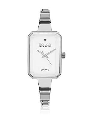 SO & CO New York Uhr mit japanischem Quarzuhrwerk Woman GP16075 24 x 33 cm