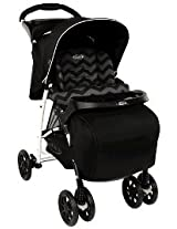 Graco Stroller Mirage Plus Black Zig Zag