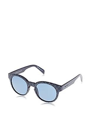 ITALIA INDEPENDENT Sonnenbrille 0909T-CAM-49 (49 mm) schwarz/himmelblau