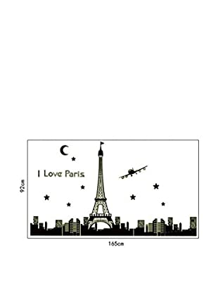 Lo+Demoda Wandtattoo I Love Paris