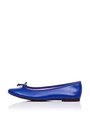 Bisue Bailarinas Piel (Azul)