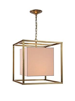 Urban Lights Quincy 2-Light Pendant Lamp, Bronze