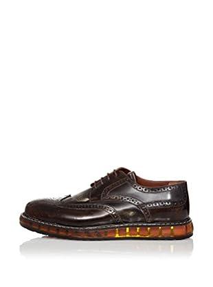 RRM Zapatos Derby Picados (Marrón)