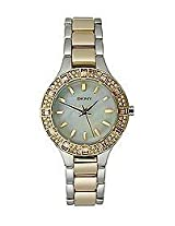 DKNY Chambers Analog Off-White Dial Women's Watch