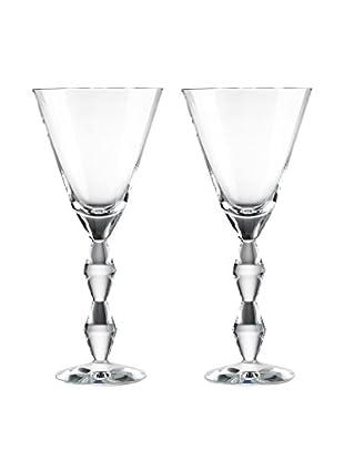Rogaška Set of 2 Juliet 12-Oz. Goblets, Clear