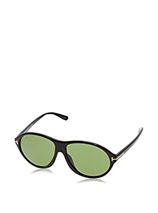 Tom Ford Gafas de Sol Ft398 01N 60 (60 mm) Negro / Verde