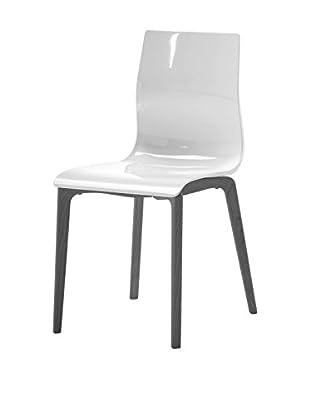 Domitalia Gel Chair, White/Black