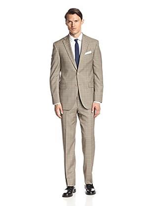 Lanza Men's Plaid Suit