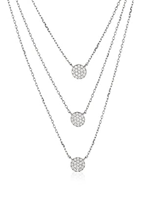 DI GIORGIO PARIS Halskette N158156 rhodiniertes Silber 925