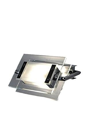 Leucos Wand- und Deckenlampe 360 Gradi 200 Led kristall/chrom