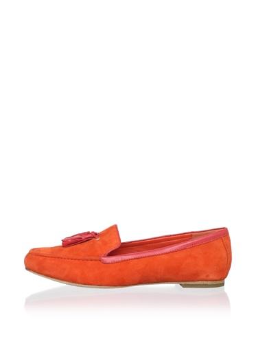 Dolce Vita Women's Nels Flat (Orange/Red Suede)