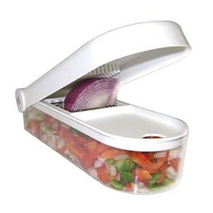 Saleshop365 Vegetable Chopper / Dicer Cum Finger Chipser