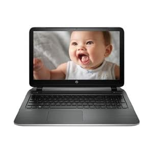 HP Pavilion 15 P027TX 15.6-inch Laptop (Intel Core i3/4GB/1TB/Win8.1/NVIDIA), Silver