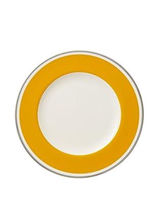 Villeroy & Boch Anmut My Colour Dinner Plate, Orange/White
