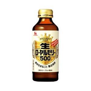 【クリックで詳細表示】ハウスウェルネスフーズ 生ローヤルゼリー500ドリンク 150ml瓶 1ケース(30本)