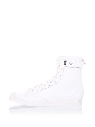 adidas SLVR Women's SLVR Fashion Mid II Sneaker (White)