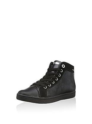 Geox Hightop Sneaker Jr Creamy E
