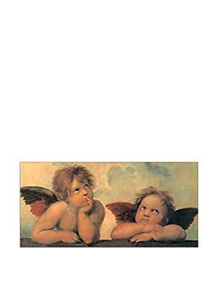 ArtopWeb Panel Decorativo Raffaello Madonna Sistina 50x100 cm