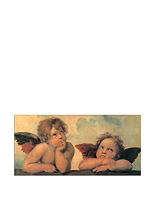 Artopweb Wandbild Raffaello Madonna Sistina 50x100 cm mehrfarbig