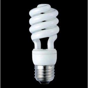 【クリックで詳細表示】東芝 電球形蛍光ランプ D15形・昼白色TOSHIBA ネオボールZ PRIDE60WタイプD形 EFD15EN/10-PDS