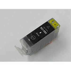 【クリックでお店のこの商品のページへ】BCI-9BK(染料ブラック) キャノン互換インク ICチップ付