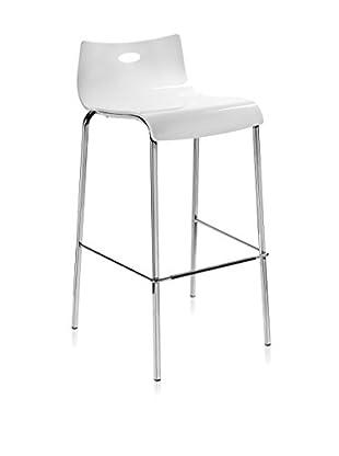Iplex Design Taburete Essentia Blanco