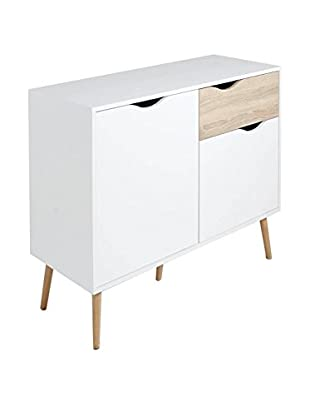 Evergreen House Mueble Buffet Blanco/Madera