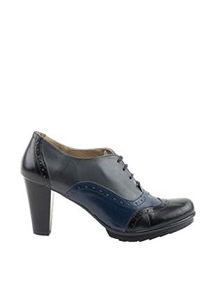 Daneris Zapatos Abotinados Tacón