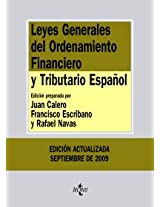 Leyes Generales del Ordenamiento Financiero y Tributario Espanol/ General Laws of The Spanish Financial and Tax Ordinance (Biblioteca De Textos Legales/ Legal Texts Library)