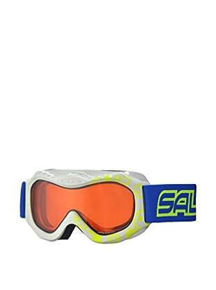 salice occhiali Maschera Da Sci 601DAD Bianco/Giallo/Arancione