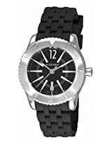Azzaro Coastline Black Dial Black Rubber Mens Watch Az2200.12Bb.010