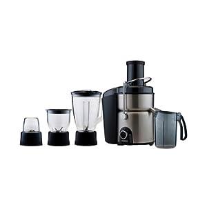 Usha 3274 700-Watt Juicer Mixer Grinder (Stainless Steel and Black)