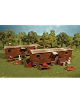 Bachmann Industries Plasticville U.S.A. Kit - Railroad Work Sheds (2 per Box) (HO Scale)