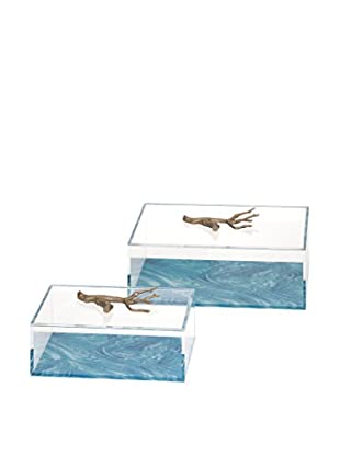 Set of 2 Serene Acrylic Boxes