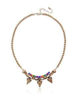 Sparkling Sage Arrowhead Trio Necklace