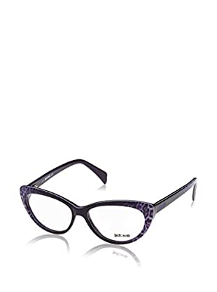 Just Cavalli Montura Jc0601 (53 mm) Morado / Leopardo