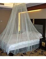 Handicraft Hanging Mosquito Net For Double Bed 7x7 Feet
