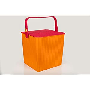 Casa De Regalos Orange Bucket