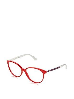 Gucci Montatura Gg 3148 (55 mm) Rosso/Bianco