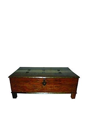 Moti Beech Box Coffee Table, Multi