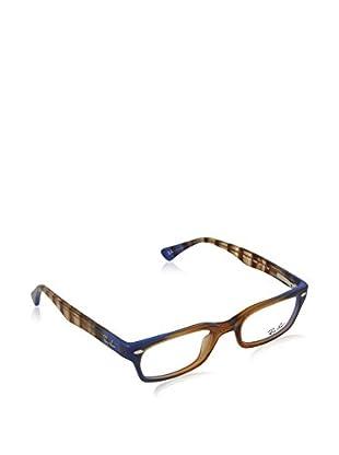Ray-Ban Gestell 5150 548848 (48 mm) braun/blau