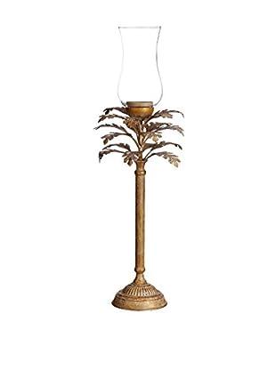 Concept Luxury Kerzenhalter Leaves goldfarben