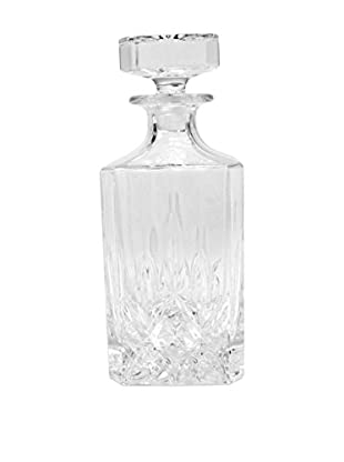 Quilted Crystal Decanter, Glass
