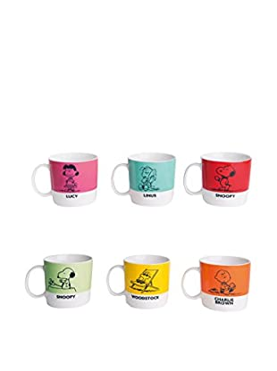 Brunch Time Becher 6er Set Peanuts