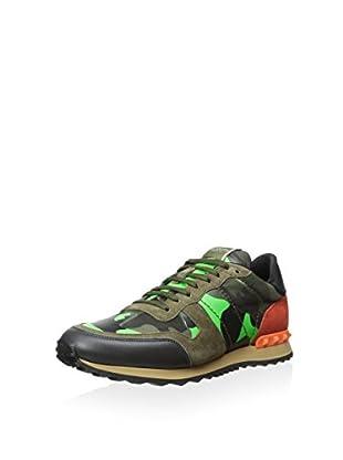 Valentino Men's Camo Sneaker