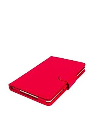 Imperii Funda Con Teclado Bluetooth iPad Mini 1 / 2 / 3 Rojo